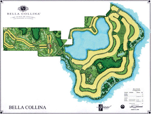 Bella Collina Overall Layout